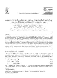 A parameter-uniform Schwarz method for a singularly perturbed ...