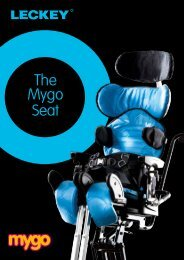 Mygo Seating System brochure - Leckey