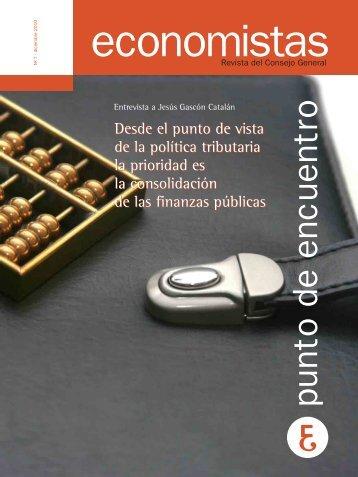 Economistas-7 - Consejo General de Colegios de Economistas