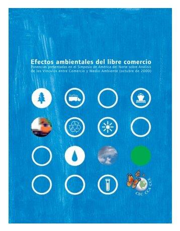 Efectos ambientales del libre comercio - PAOT