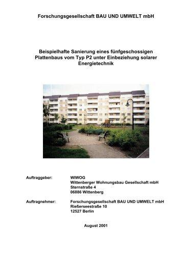 38.350 KB - Energetische Sanierung der Bausubstanz - EnSan