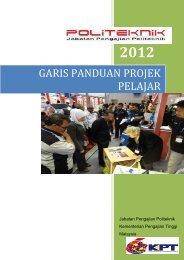 GARIS PANDUAN PROJEK PELAJAR - Jabatan Pengajian Politeknik