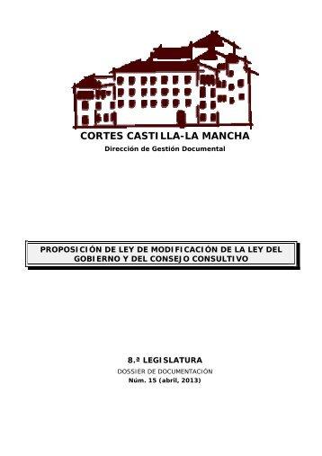 Dossier núm. 15. Proposición del ley de modificación de la Ley 11 ...