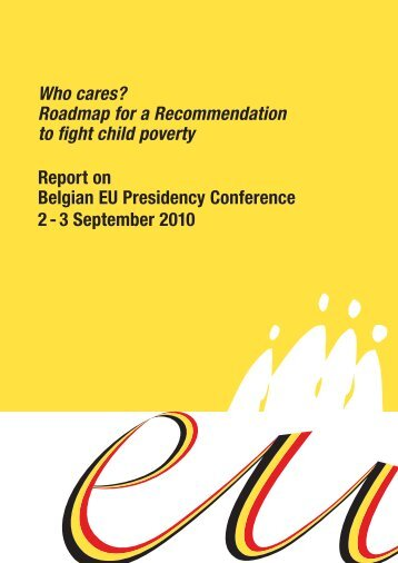 Who cares? Roadmap for a Recommendation to fight child poverty ...