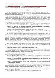 Fall 5 - Institut für Staats- und Verwaltungsrecht - Universität Wien