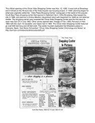 Chula Vista Shopping Center - Schoenherr Home Page in Sunny ...