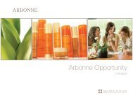 Arbonne Opportunity