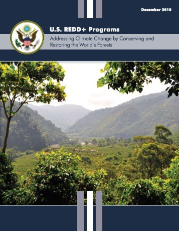 US REDD+ Programs - US Agency for International Development ...