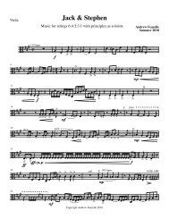 Viola (Players 1, 2 and 3) - PDF format