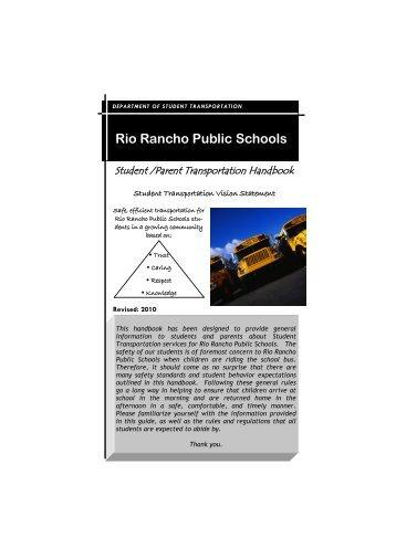 Rio Rancho Public Schools - Student Transportation - Rio Rancho ...