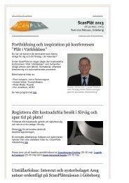 """Fortbildning och inspiration på konferensen """"Plåt ... - Svenska Mässan"""
