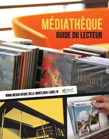 Télécharger le guide du lecteur. - Montlouis-sur-Loire