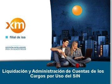 2. Liquidación y facturación - Cargos por uso del STN y ...