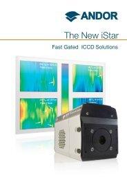 iStar ICCD Brochure - Andor Technology