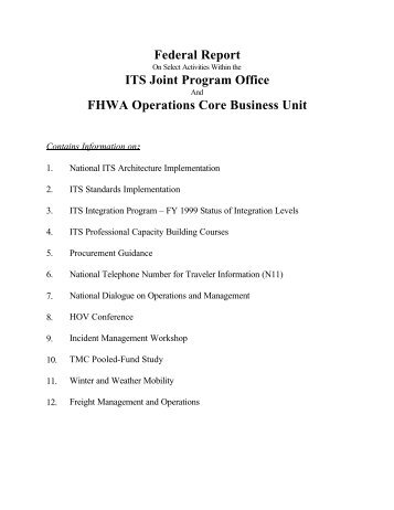 handout - Traffic Signal Systems Committee