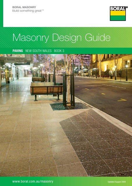 Masonry Design Guide