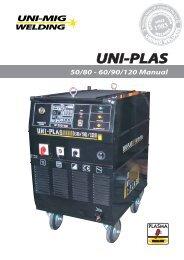 UNI-PLAS Manual - Uni-Mig