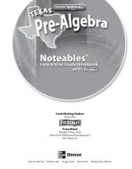 Texas Noteables Interactive Study Notebook - McGraw-Hill Higher ...