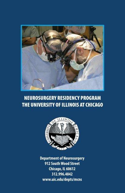 Neurosurgery Residency Program at the University of Illinois