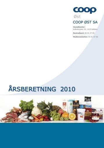 ÅRSBERETNING 2010 - Coop