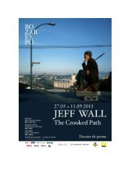 Proposition for Jeff Wall exhibition to be held in ... - VisitBrussels