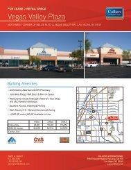 Vegas Valley Plaza - Property Line