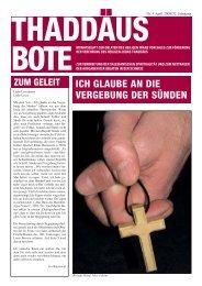 Bote April.qxp:Bote März.qxp - Oblaten des hl. Franz von Sales
