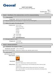 Product Safety Data Sheet - Trademate Home Page