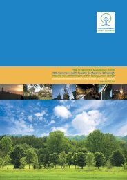 Final Programme & Exhibition Guide 18th Commonwealth Forestry ...