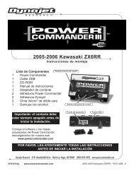 2005-2006 Kawasaki ZX6RR - Power Commander