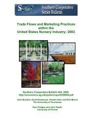 2003 survey - Aggie Horticulture