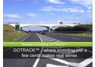 GOTRACK™ where investing just a few cents makes real sense.