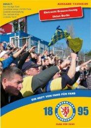 Heft 13: Union Berlin - FanPresse Braunschweig