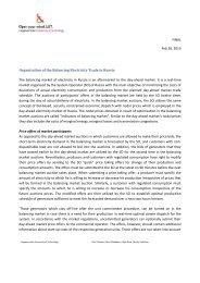 Balancing market in Russia - Fingrid