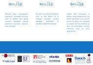 SKILL2E projesi, yükseköğrenim mezunlarını, çok kültürlü, kurumlar ...
