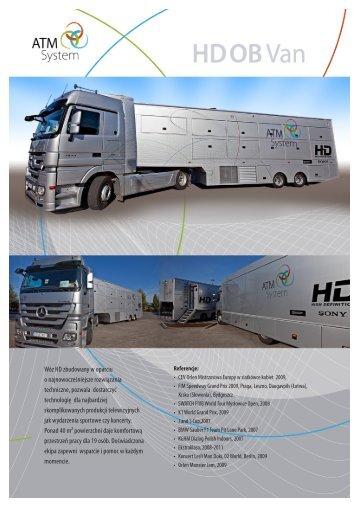 Wóz HD zbudowany w oparciu o najnowocześniejsze ... - ATM System