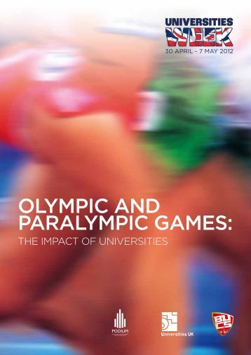 Olympic and paralympic Games: THE IMPACT OF ... - Universities UK