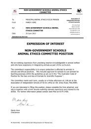 NGSAEC Expression of Interest - Association of Independent ...