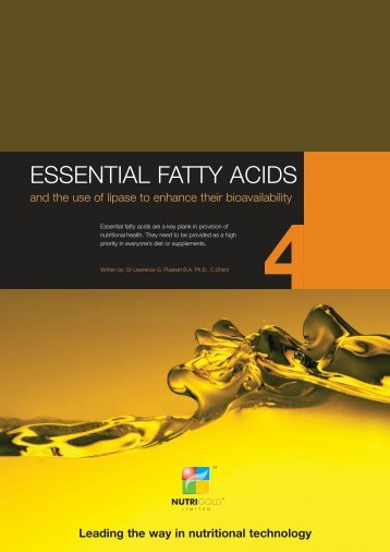 ESSENTIAL FATTY ACIDS - Nutrigold