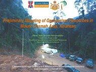 Mount Chamah area - UKM