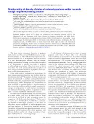 Direct probing of density of states of reduced graphene oxides in a ...