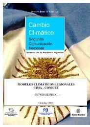MODELOS CLIMÁTICOS REGIONALES CIMA - CONICET ...