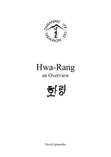 deep and meaningful purpo the hwa rang taranaki itf taekwondo