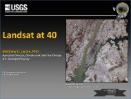 Landsat at 40 - USGS