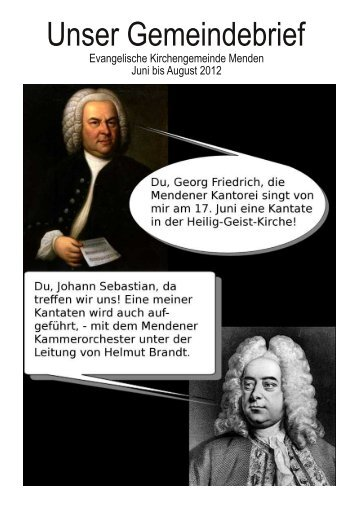 Unser Gemeindebrief - Kirche-in-menden.de