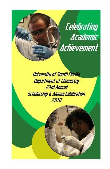 View the Awards Program - Chemistry - University of South Florida