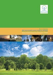 Poster Abstracts - 18th Commonwealth Forestry Conference