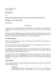 Den 29. april 2011 blev i sag nr. 44/2010 ... - Revisornævnet