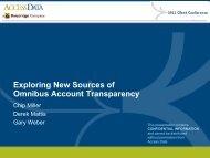 New Sources of Omnibus Transparency - Broadridge