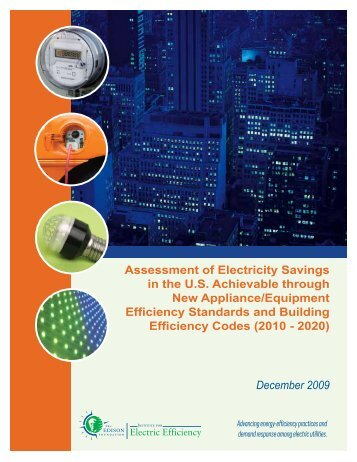 Assessment of Electricity Savings in the US Achievable through New ...